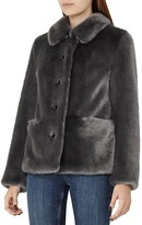 Reiss Alexia Faux-Fur Coat