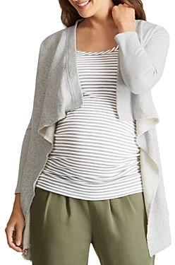 Ingrid & Isabel Drape-Front Maternity Cardigan