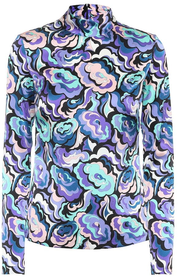 6f4643ef166 Emilio Pucci Purple Women's Tops - ShopStyle