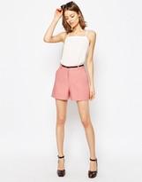 Asos Tailored Linen Short with Belt