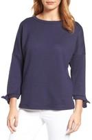Women's Caslon Tie Sleeve Sweatshirt
