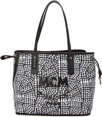 MCM Liz Reversible Medium Visetos Shopper Tote