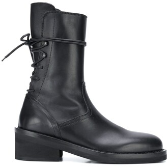 Ann Demeulemeester Rear Lace-Up Boots