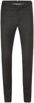 Oxford Auden Wool Suit Trousers Gunmetal X