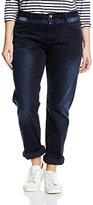 Zizzi Women's J99090B Slim Jeans - black -