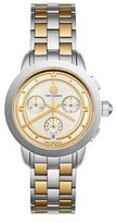 Tory Burch Tory Chronograph Two-Tone Stainless Steel Bracelet Watch
