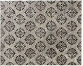 Pottery Barn Empire Scroll Rug - Gray