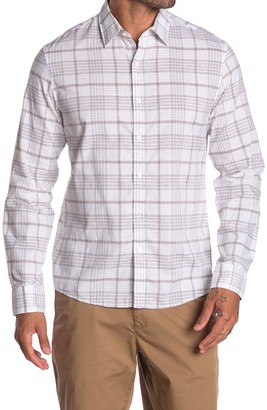 Michael Kors Slim Fit Plaid Shirt