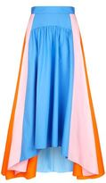 Peter Pilotto Colour-Block Cotton Maxi Skirt