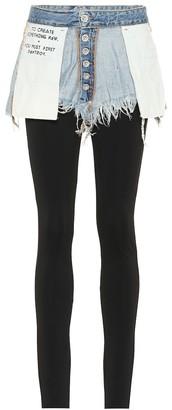 Unravel Cotton denim pants
