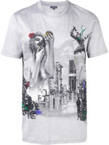 Lanvin graphic print T-shirt - men - Cotton - 48