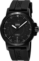 Oris Men's 73576414764-0742205B Rubber with Dial Watch