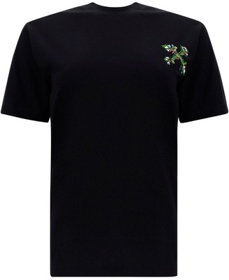 Off-White Embroidered Arrows T-Shirt
