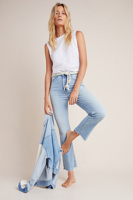 Mother The Hustler Ultra High-Rise Bootcut Jeans By in Blue Size 30