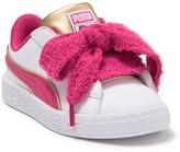 Puma Minions Basket Heart Fluffy Sneaker (Little Kid)