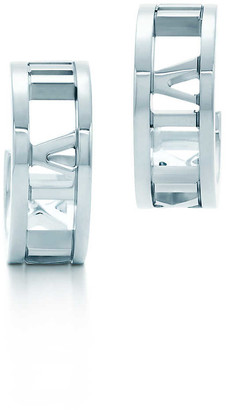 Tiffany & Co. Atlas hoop earrings in sterling silver, mini