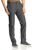 Haggar Men's LK Life Khaki Slim Taper-Fit Flat-Front Canvas Cargo Pant