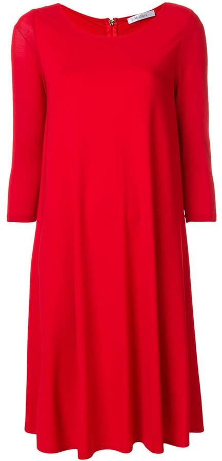 Max Mara flared loose dress