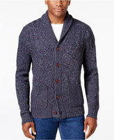 Tommy Bahama Men's Shawl Collar Cable-Knit Cardigan