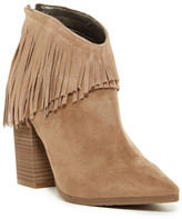 Kenneth Cole Reaction Pull Ashore Fringe Ankle Boot