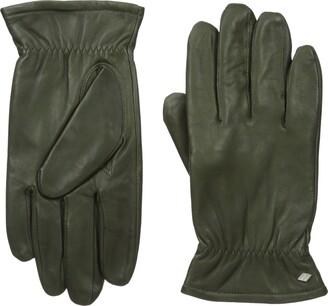 GII Men's Fine Leather Gloves with Melange Fleece Lining