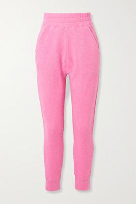 The Elder Statesman Cashmere Track Pants - Pink