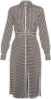 Altuzarra Dane striped crepe de Chine dress