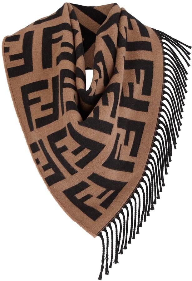 206905b909 triangular FF logo shawl