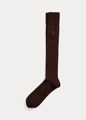 Ralph Lauren Ribbed Over-the-Calf Socks