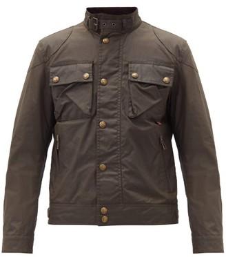 Belstaff Racemaster Waxed-cotton Jacket - Dark Green