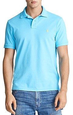 Polo Ralph Lauren Custom Slim Fit Mesh Short Sleeve Polo Shirt
