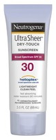 Neutrogena Ultra Sheer® Dry-Touch Sunscreen Broad Spectrum - SPF 30 - 3 Fl Oz