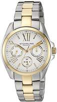 "Stuhrling Original Women's 494.02 ""Regent Dynamo"" 23k Yellow Gold Plating and Stainless Steel Two-Tone Watch"