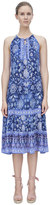 Rebecca Taylor Sleeveless Dreamweaver Midi Dress