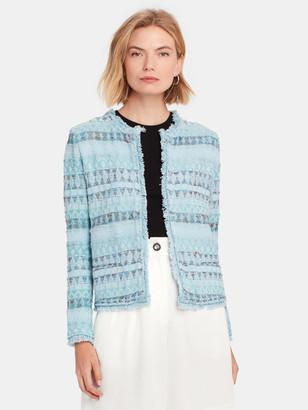 IRO Louisa Open Front Fringe Jacket