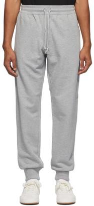 Dries Van Noten Grey Zip Pockets Lounge Pants