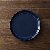 Crate & Barrel Hue Navy Blue Salad Plate