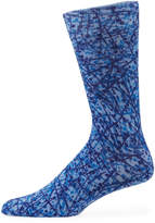 Original Penguin Dalton Combed Cotton Dot Socks