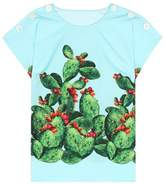 Dolce & Gabbana Exclusive to mytheresa.com – printed cotton top