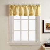 Asstd National Brand Kylie Rod-Pocket Pleated Valance