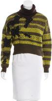 Jean Paul Gaultier Patterned Cropped Sweater