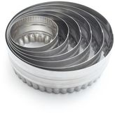 Sur La Table Stainless-Steel Reversible Biscuit Cutters, Set of 6