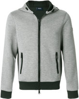 Armani Jeans hooded zipped jacket