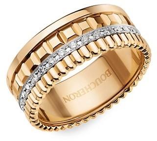 Boucheron Quatre Radiant Edition 18K Yellow Gold & Diamond Ring