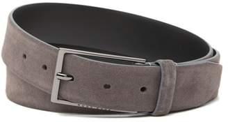BOSS Calindo Suede Leather Belt