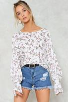 Nasty Gal nastygal Grow Time Floral Blouse