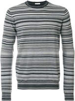 Paolo Pecora multi-stripe sweater