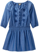Lucky Brand Amanda Smocked Waist Denim Dress (Toddler Girls)