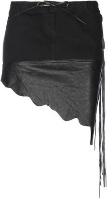 THE EXOTIC VOYAGE Denim skirts