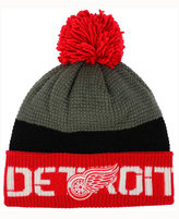 Reebok Detroit Red Wings Pom Knit Hat